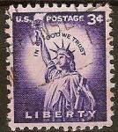 Sellos del Mundo : America : Estados_Unidos : Liberty-Estatua de la Libertad USA