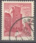 Stamps : Europe : Austria :  AUSTRIA_SCOTT 623 EDIFICIO RABENHOF, ERDBERG, VIENA. $0.2
