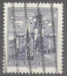 Stamps : Europe : Austria :  AUSTRIA_SCOTT 691 FUENTE RESIDENZ, SALZBURG. $0.2