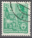 Stamps : Europe : Germany :  DDR_SCOTT 188 MUJER MARINERA