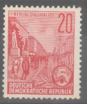 Sellos del Mundo : Europa : Alemania : DDR_SCOTT 478 BULEVAR STALIN