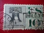 Sellos de America - Estados Unidos -  Let freedom ring - Deja a la libertad sonar-