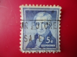 Stamps United States -  James Monroe - (1757-1831)