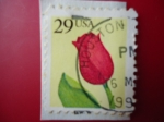 Stamps United States -  29 USA -Tulip Flower - For U.S. Addresses only (Para nosotros. Solo se Adhiere)