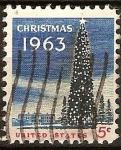Sellos del Mundo : America : Estados_Unidos : Navidad 1963