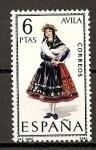 Sellos de Europa - España -  Avila.