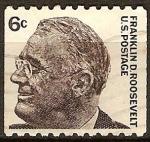 Sellos del Mundo : America : Estados_Unidos : Franklin Roosevelt
