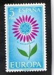 Sellos de Europa - España -  1614- EUROPA- CEPT.  V  ANIVERSARIO DE LA  CEPT.