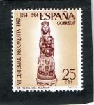 Sellos de Europa - España -  1615- VII CENT. RECONQUISTA DE JEREZ. VIRGEN DEL ALCAZAR.