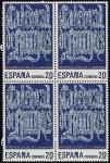 Stamps Spain -  Patrimonio Cultural de la Humanidad - Catedral de Burgos