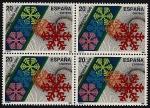 Stamps Spain -  Navidad 1988