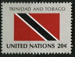 Sellos del Mundo : America : ONU : Bandera, Trinidad y Tobago