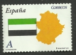 Stamps Spain -  Extremadura