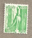 Sellos del Mundo : Africa : Egipto : Representación de Horus