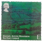Sellos de Europa - Reino Unido -  Paisajes de Irlanda del Norte.