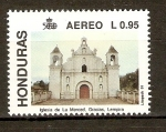 Stamps of the world : Honduras :  IGLESIA  DE  LA  MERCED
