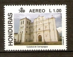 Stamps of the world : Honduras :  CATEDRAL  DE  COMAYAGUA