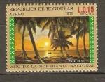 Stamps Honduras -  ATARDECER  EN  TELA