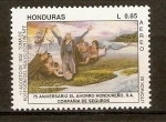 Stamps of the world : Honduras :  TOMA DE POSECIÒN  DEL  NUEVO  CONTINENTE