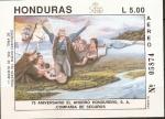 Stamps Honduras -  TOMA DE POSECIÒN  DEL  NUEVO  CONTINENTE