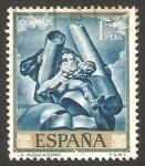 Sellos de Europa - España -  1715 - José Mª Sert, La Audacia