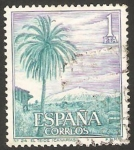 Stamps Spain -  1731 - El Teide en Tenerife