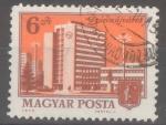 Stamps : Europe : Hungary :  HUNGRIA_SCOTT 2332 RASCACIELOS, DUNÁUJVÁROS. $0.2
