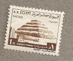 sellos de Africa - Egipto -  Pirámide Saquara