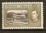 Stamps America - Trinidad y Tobago -  CASA  DE  GOBIERNO  Y  GEORGE  VI