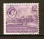Sellos del Mundo : America : Trinidad_y_Tobago : HOSPITAL  SAN  FERNANDO  Y  REINA  ELIZABETH  II