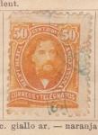 Stamps America - Argentina -  Personaje ed 1890