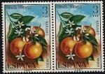 Stamps Spain -  Flora - Naranjo