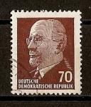 Sellos de Europa - Alemania -  DDR / P. Walter Ulbricht.
