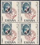 Stamps Spain -  Día mundial del sello 1976