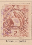 Stamps America - Guatemala -  Libertad 15-09-1821 ed 1886