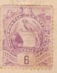 Stamps America - Guatemala -  Libertad 15-09-1821 ed 1886 raro