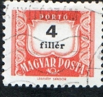 Stamps of the world : Hungary :  PORTÓ - MAGYAR POSTA
