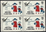 Stamps Andorra -  Año Internacional del niño