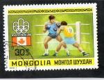Sellos de Asia - Mongolia -  MONGOLIA- MONTREAL 76
