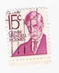 Sellos de America - Estados Unidos -  Oliver Wendell Holmes (repetido)