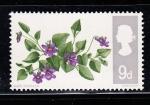 Sellos del Mundo : Europa : Reino_Unido : flores