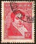 Sellos de America - Argentina -  BERNARDINO RIVADAVIA
