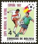 Sellos del Mundo : America : Bolivia : COPA MUNDIAL DE FUTBOL ESPAÑA 82