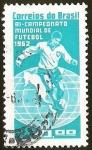 Stamps Brazil -  BI - CAMPEONATO MUNDIAL DE FUTEBOL 1962