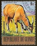 Stamps Guinea -  TAUROTRAGUS ORYX D