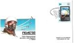 Sellos de America - Chile -  SOBRE PRIMER DIA DE EMISION - FERIA INTERNACIONAL DEL AIRE Y DE EL ESPACIO