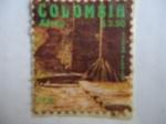 Sellos de America - Colombia -  Ciudad Perdida - Cultura Tairona - Sierra Nevada de Santa Marta Colombia.