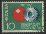 Sellos de Europa - Suiza -  S483 - 50 Aniv. Semana Suiza