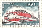 Sellos de Europa - Francia -  Turbo Train T.G.V.001