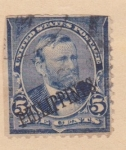 Sellos de America - Filipinas -  Presidente Harding Ed. 1899